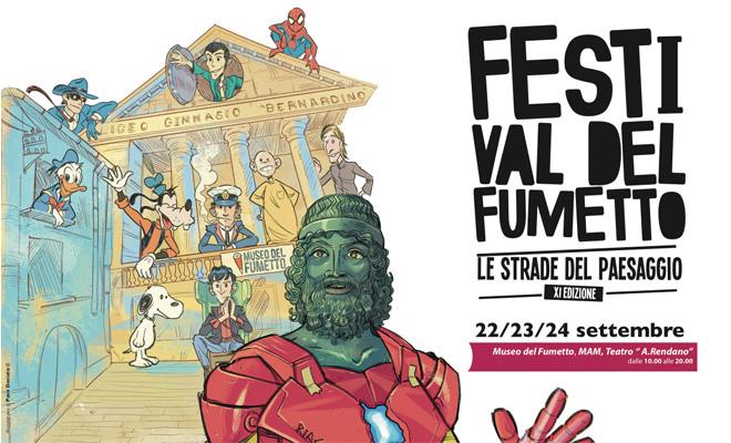 Festival del Fumetto 2017 – Le Strade del Paesaggio