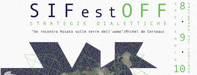 SI Fest OFF 2017 - Strategie Dialettiche