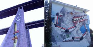 Wall Susa - Arte urbana No TAV