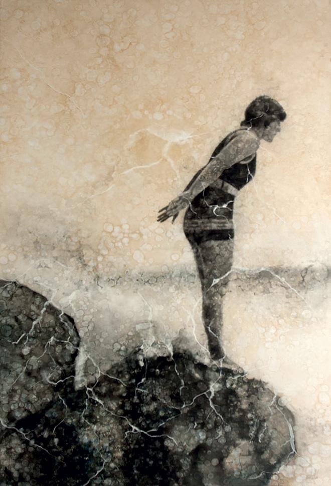 Karlos Pérez - After Memories, 2017, olio su tela, 150x200 cm
