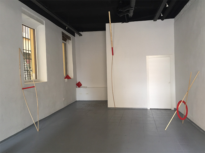 Bárbara Arcos - Contemporary art Exhibition, 2017, Suburbia, Granada