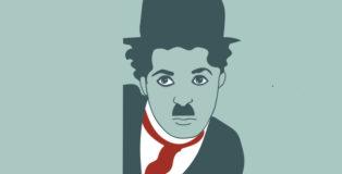 Charlie Chaplin - Illustrazione di @Annalisa Grassano