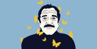 Gabriel García Márquez - Illustrazione di @Annalisa Grassano