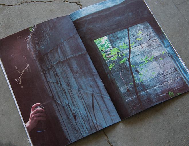 Livio Ninni - RESIDUI, fanzine. Pagine: 32. Dimensioni: 16×23,5 cm. Limited Edition: n.100 copie firmate
