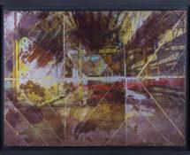 Livio Ninni, SECTION Y, 90 x 55 cm phototransfer on iron