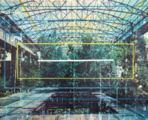 Livio Ninni, TRANSFORMATION, 115 x 70 cm, mix media - phototransfer on wood