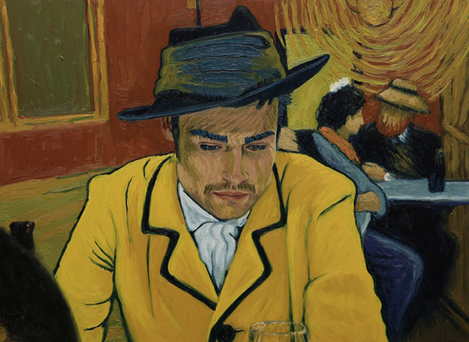 Loving Vincent - Armand Roulin, Interesting Man, painting by Sara Campos Froilan