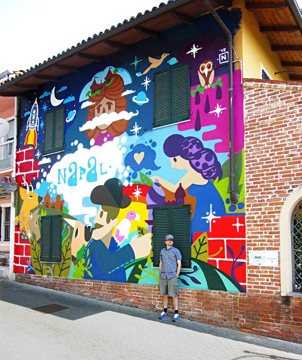 Napal - Wall mural