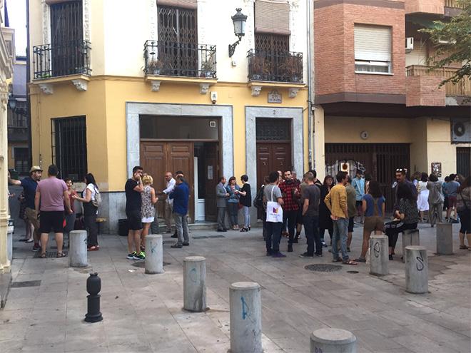 UP AND COMING - Suburbia, Granada, 2017