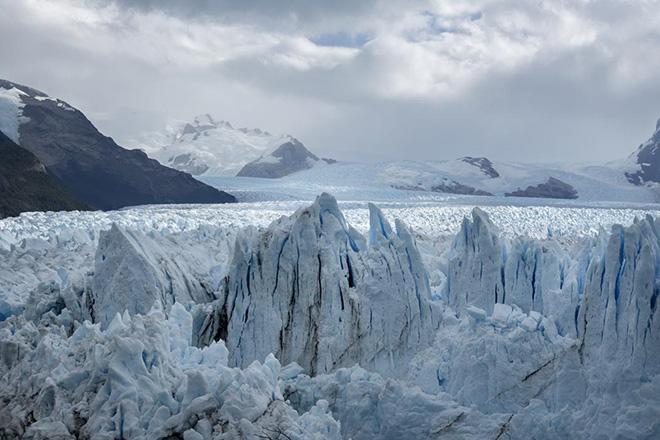 Niccolò Aiazzi - Veduta di ghiacciaio, Patagonia