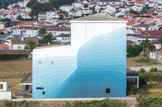 Ciredz - Ephemeral, VOLUME 3 for Walk & Talk, 2017, Azores Islands, Portugal, 2017. photo credit: Antonio Araujo