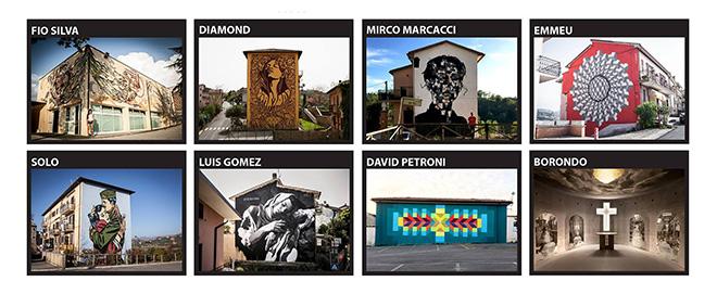 JPubblica - Residenze di arte urbana a Selci