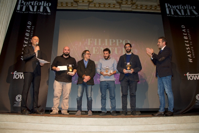 Proclamazione vincitore Portfolio Italia 2017