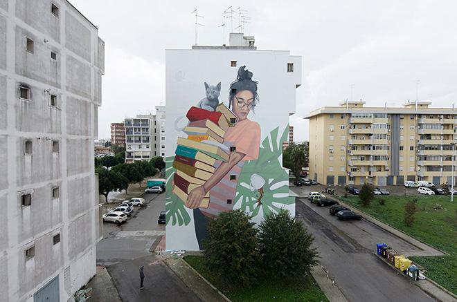 Artez - 167 Art Project, Street art a Lecce