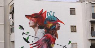 Bifido + Julieta XLF, 167 Art Project, Street art a Lecce