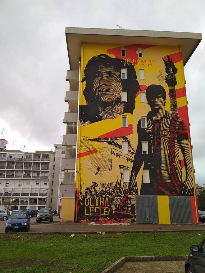 Chekos Art - 167 Art Project, Street art a Lecce