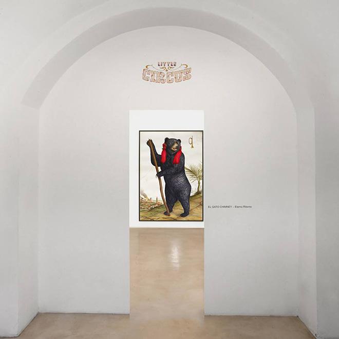 El Gato Chimney - Eterno Ritorno, installation view, Antonio Colombo Arte Contemporanea, Milano