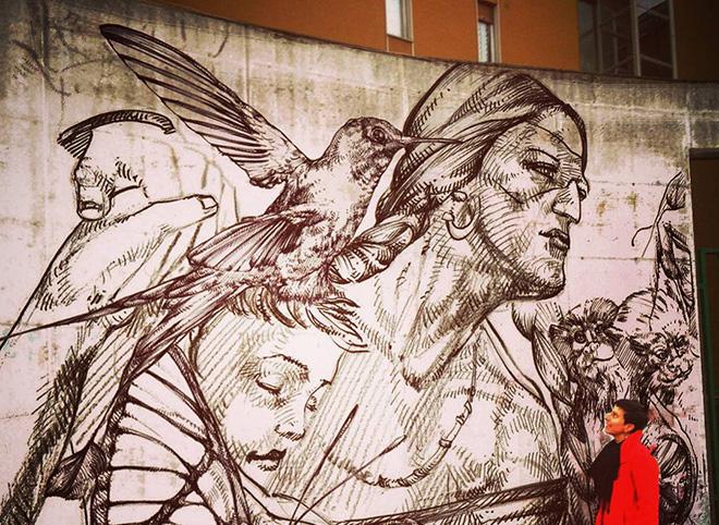 Gio Manzoni – Mamme Boliviane: le nuove eroine del processo di migrazione