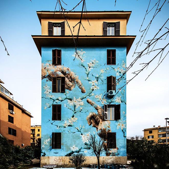 Jerico - BIG CITY LIFE, Tor Marancia, Roma, 2015