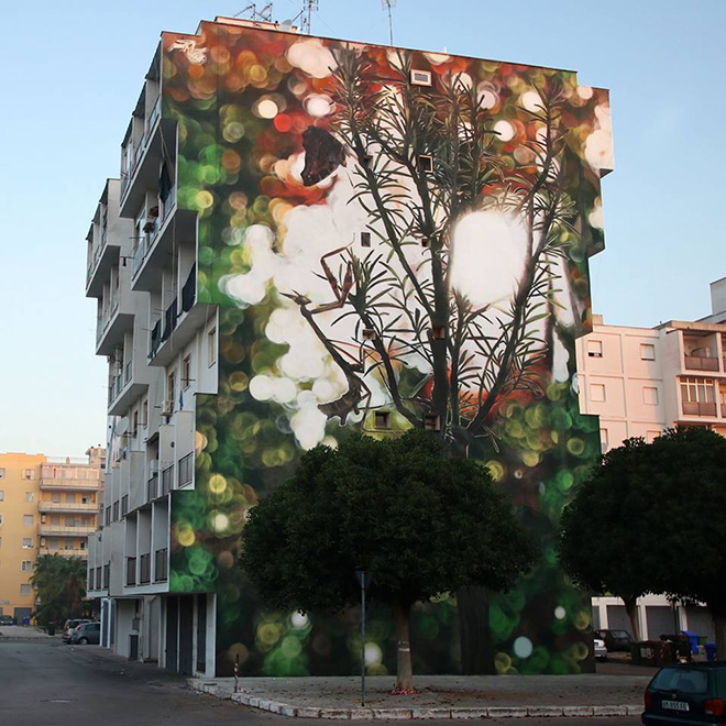Mantra - 167 Art Project, Street art a Lecce