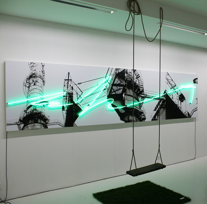 Maya Zignone - Metropolis Installazione, Velan Center, Torino. photo courtesy of: Galleria Studio 44
