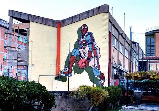 Casal Bernocchi – Arte urbana, gioia e rivoluzione