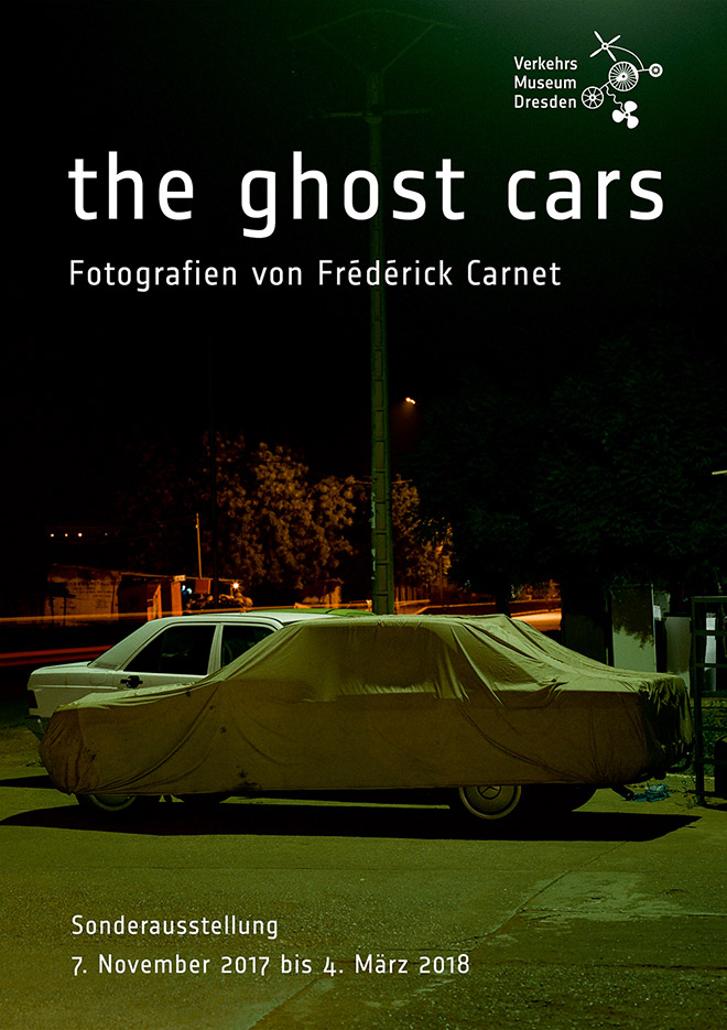 Frédérick Carnet - The ghost cars exhibition