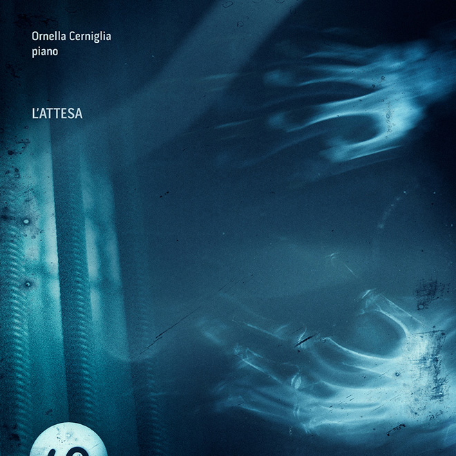 Ornella Cerniglia, piano - L'Attesa, Cover. Artwork and design by Antonio Cusimano a.k.a. 3112htm