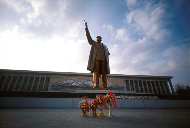 Gerald Bruneau - Paradise, Nord Corea, 2000, stampa analogica