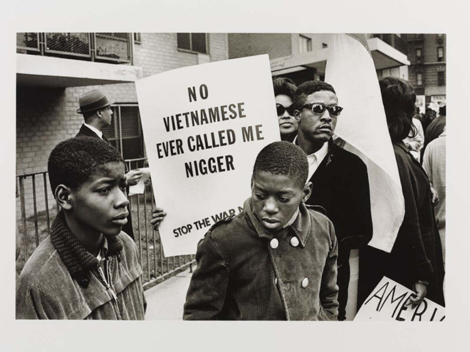 Harlem Peace March (New York City, 1967) - 1967 Builder Levy ©Victoria and Albert Museum