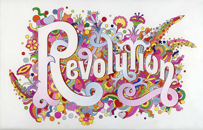 Revolution, Alan Aldridge/Harry Willock/Iconic Images, 1968