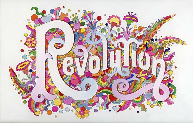 Revolution, Alan Aldridge/Harry Willock/Iconic Images, 1968