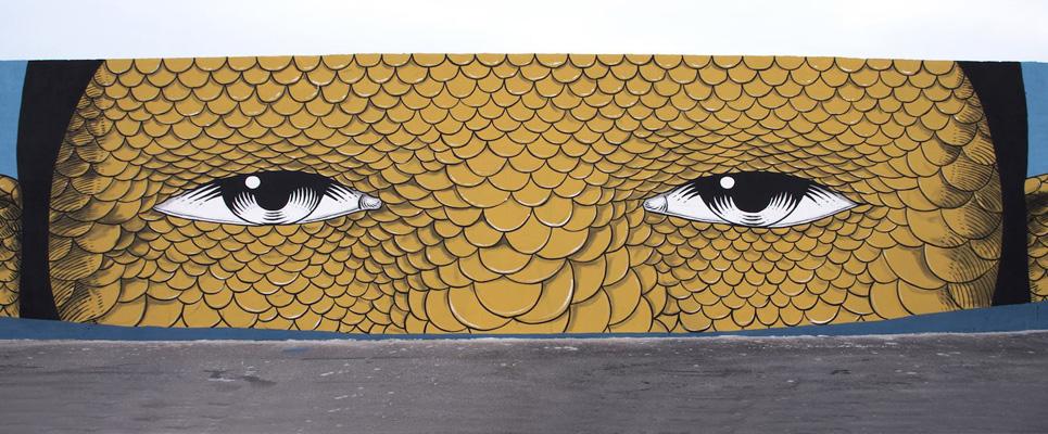 Andrea Casciu - Street art al porto di Civitanova Marche