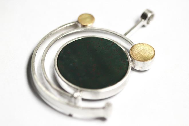 Alberto Iacopetta - Argento, oro, eliotropo, diamanti