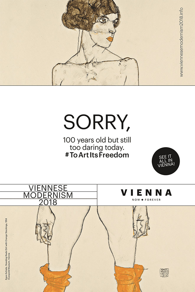 Egon Schiele - Sorry, 100 years old but still daring today