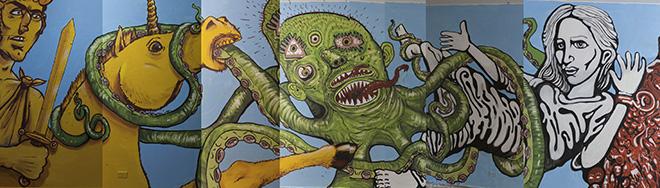 Non me la racconti giusta - Rimini: arte pubblica in carcere