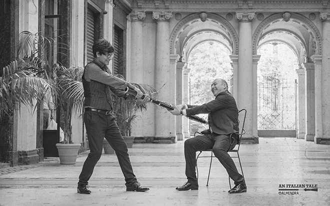 Antonino Cicero e Luciano Troja - An Italian Tale. photo credit: Francesco Libro