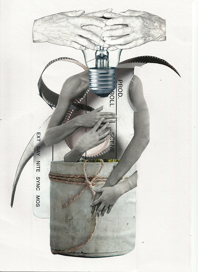LANE - THE END (Winnner Collage of FRAMMENTI)