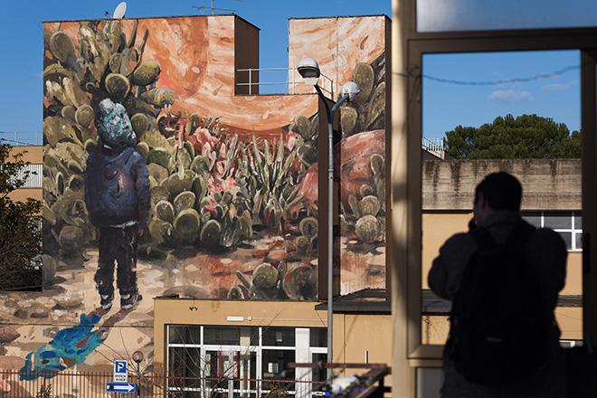 Jerico Cabrera Carandang - Ultimo Orizzonte, PUBBLICA, Civita Castellana. photo credit: Sara Francola