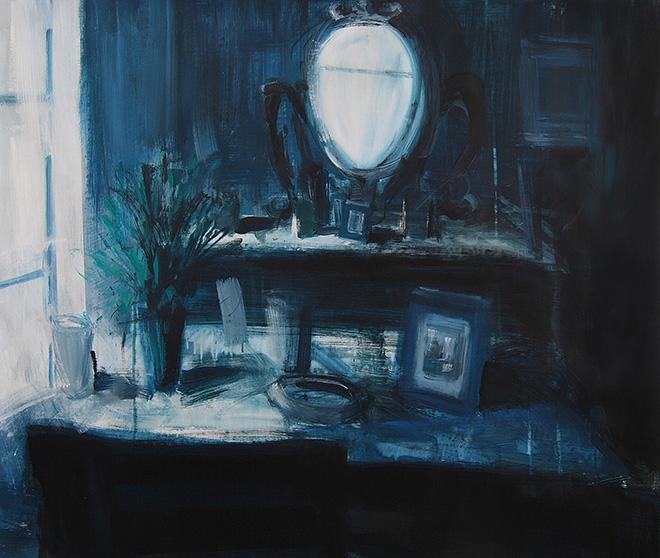Tina Sgrò - Vecchi oggetti, 2015, acrilico su tela, cm 100x120