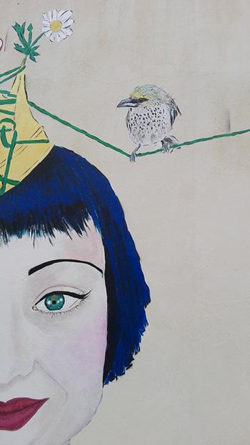 Badia Lost and Found - Lentini: arte e rigenerazione urbana. Mural by Lorena Fisicaro