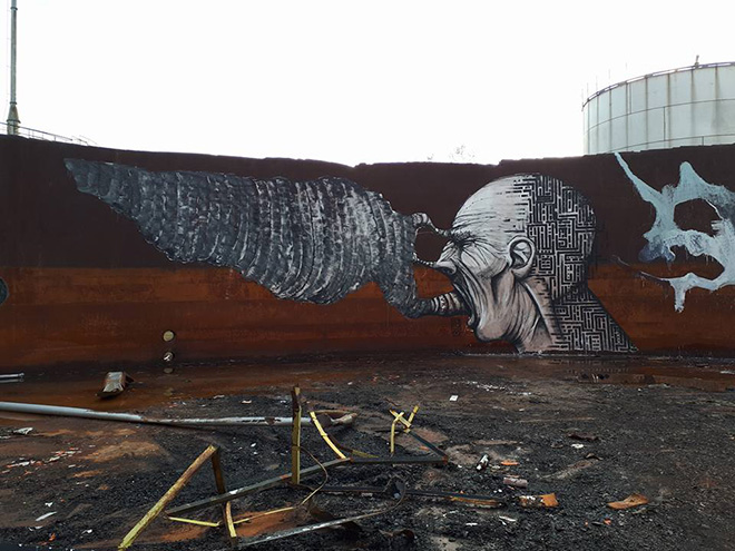 Alessio Bolognesi + Brome - Graffiti a Narnia