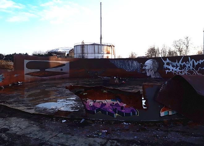 Alessio Bolognesi + Brome + Dissenso Cognitivo + Dielis - Graffiti a Narnia