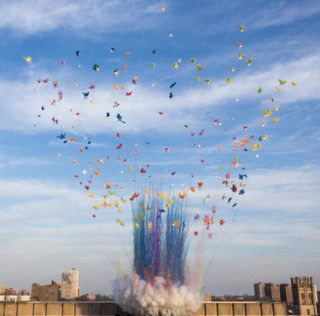 Cai Guo-Qiang – Color Mushroom Cloud