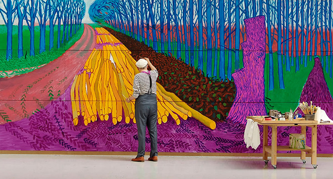 David Hockney at the Royal Academy of Arts – Arte al cinema