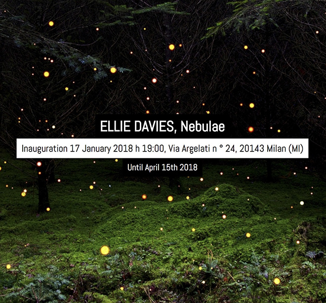 Ellie Davis - Nebulae, Galleria Patricia Armocida, Milano