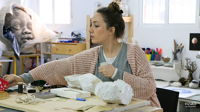 Sandra Val - Studio dell'artista