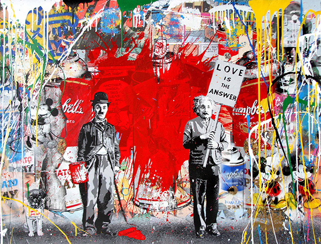 Life is beautiful – L'arte di Mr. Brainwash