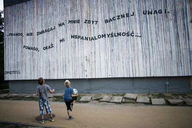 Opiemme - Tributo alla Szymborska, 2014, Gdansk, Polonia