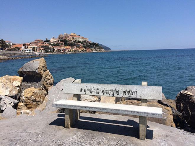 Opiemme - Il vento mi scompiglia i pensieri, 2017, Liguria